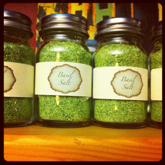 Basil Salt Jars by Jules