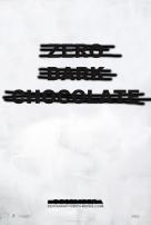 Zero Dark Chocolate