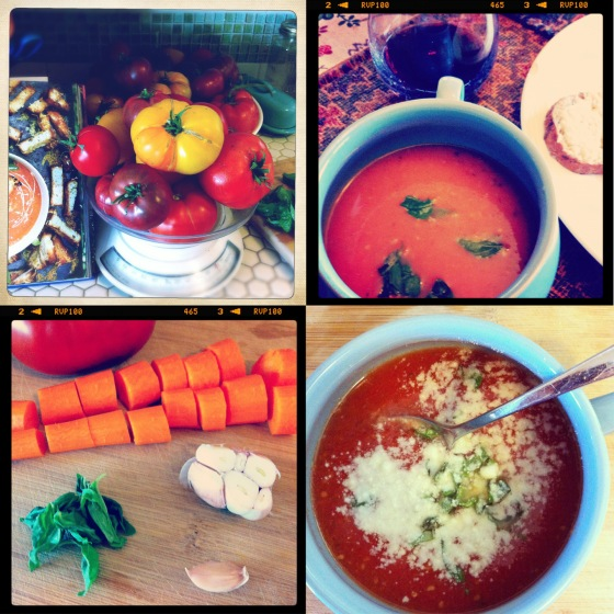 Jamie's Tomato Soup Collage 4