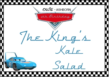 The Kings Kale Salad