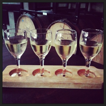 White Wine Flight