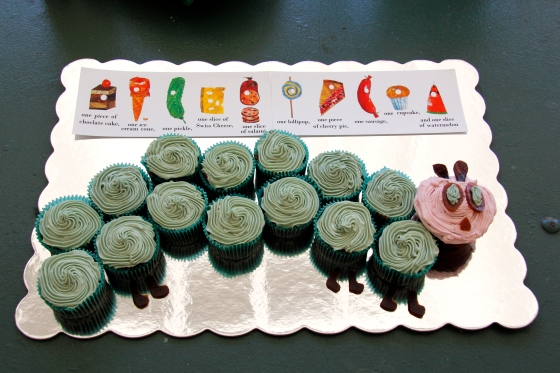 """On Ollie's birthday he ate through 15 cupcakes."""