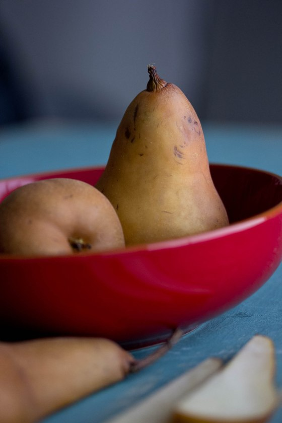 Pears and my favorite color combination